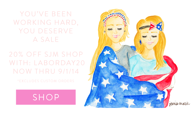Simply Jessica Marie Labor Day Sale
