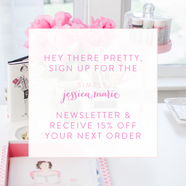 Simply Jessica Marie Newsletter