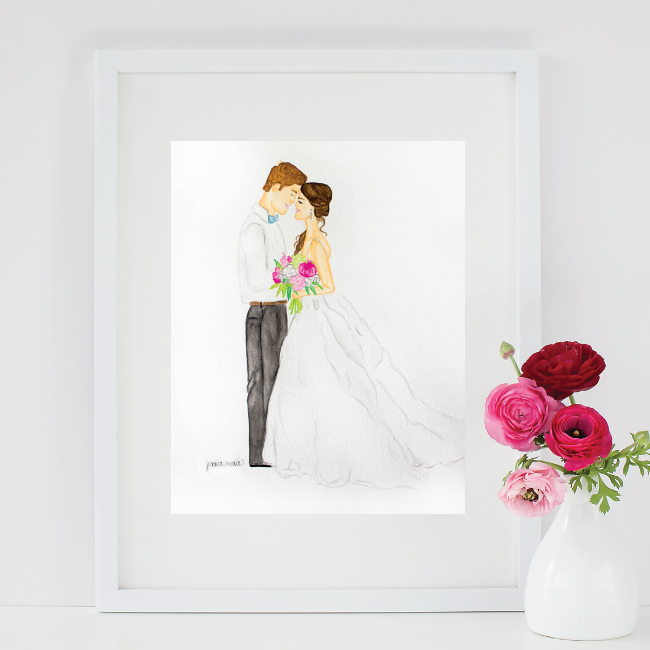 Simply Jessica Marie Custom Wedding Paintings