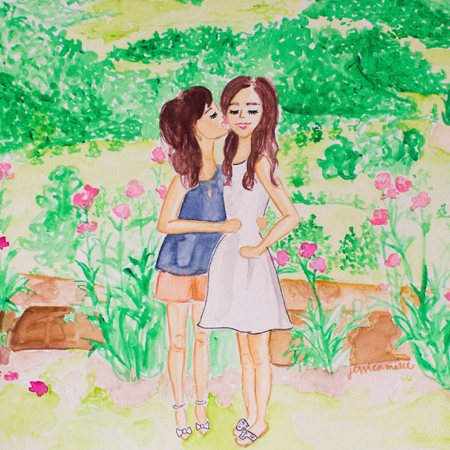 Simply Jessica Marie Custom Watercolor Paintings
