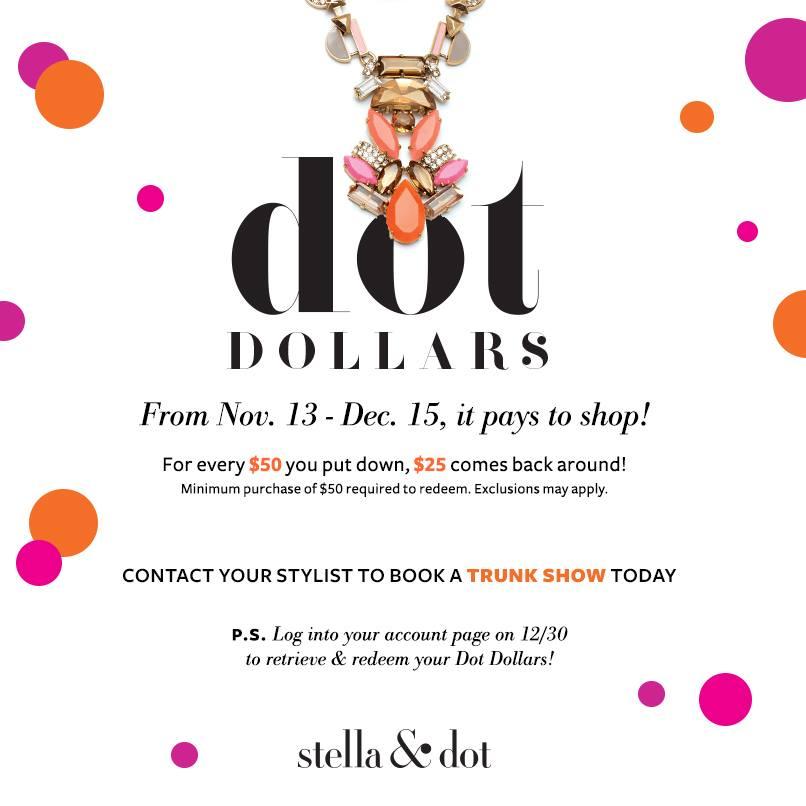 Dot Dollars Sale | Stella & Dot
