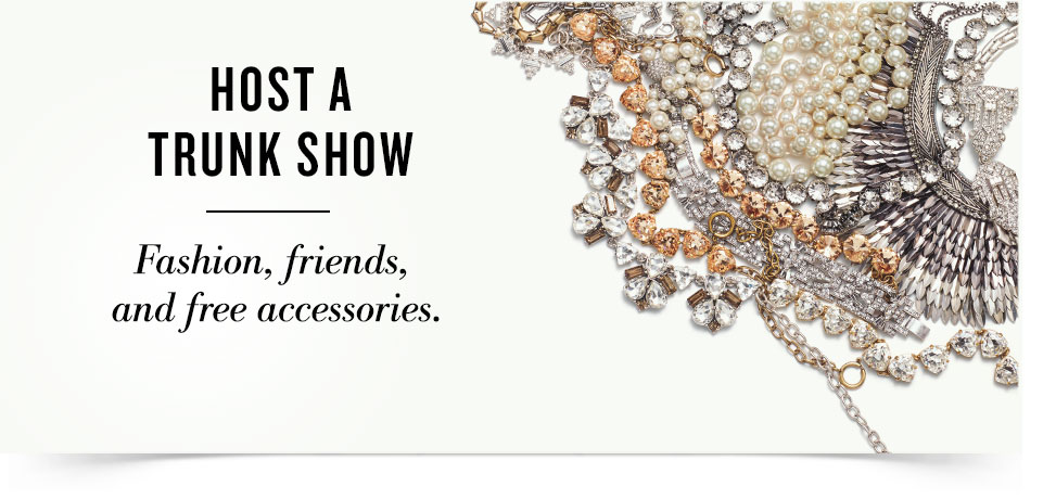 Host a Stella & Dot Trunk Show | Jessica Clinch Independent Stylist