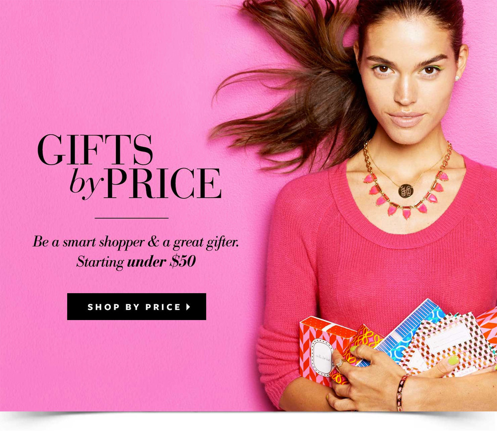 Stella & Dot Gifts by Price
