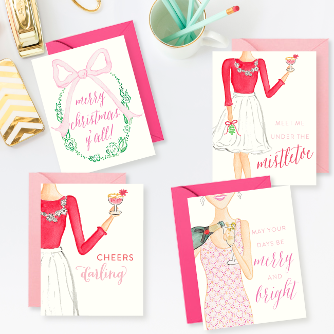 Simply Jessica Marie Christmas Card Set