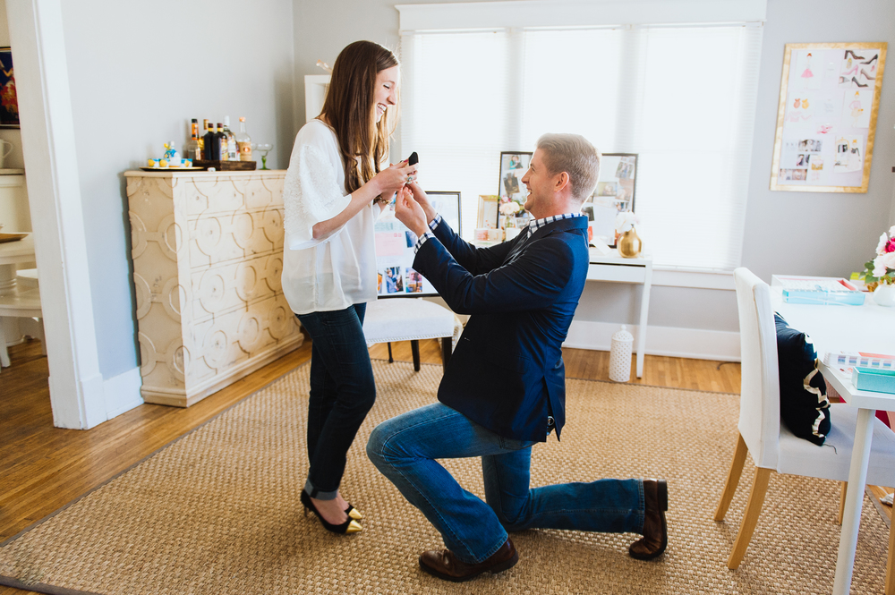 Zack and Jessica's Proposal Story | KLP Photography
