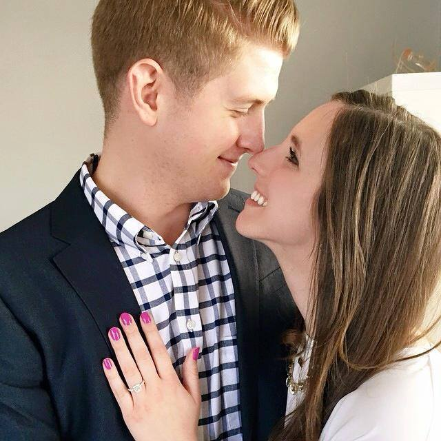 Jessica Clinch and Zack Peddicord Proposal Picture