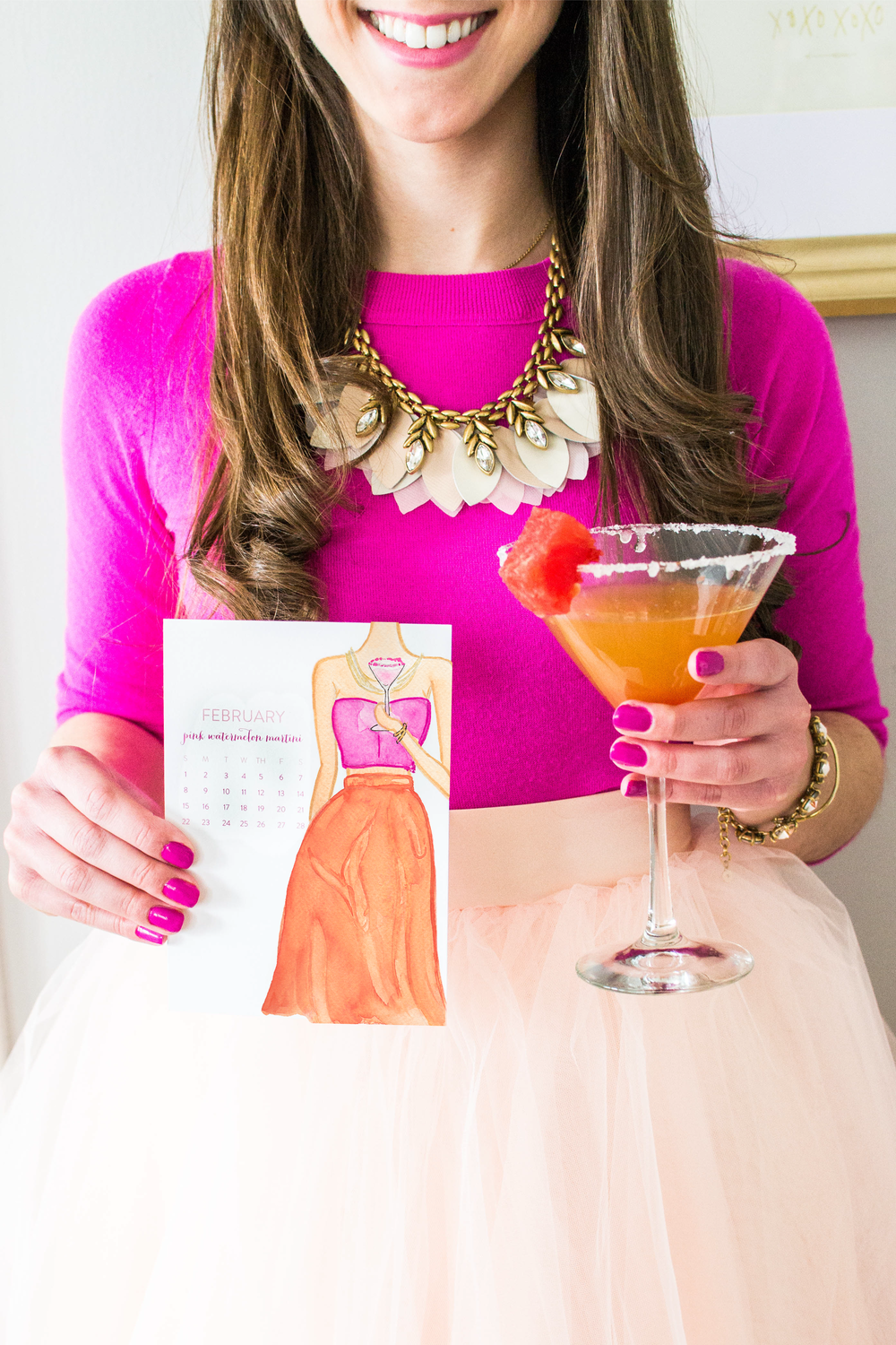 Watermelon Martini Recipe by Simply Jessica Marie | Zipporah Photography