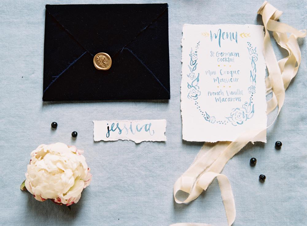 Simply Jessica Marie Custom Wedding Invitation Suite | Austin Gros | Nashville Wedding Photographer