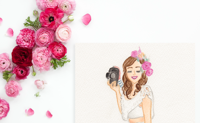 Custom Watercolor Illustration by Simply Jessica Marie | SC Stockshop