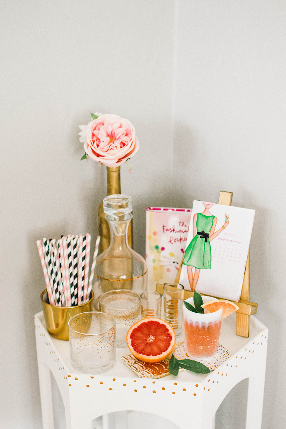 Grapefruit Sage Mimosa Cocktail Recipe by Simply Jessica Marie | Zipporah Photography | Nashville Wedding Photographer