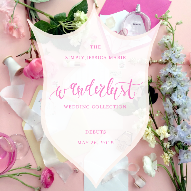Simply Jessica Marie Wanderlust Wedding Collection