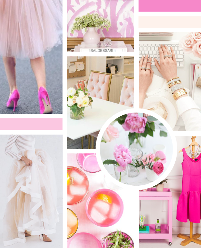 Simply Jessica Marie Brand Inspiration Board