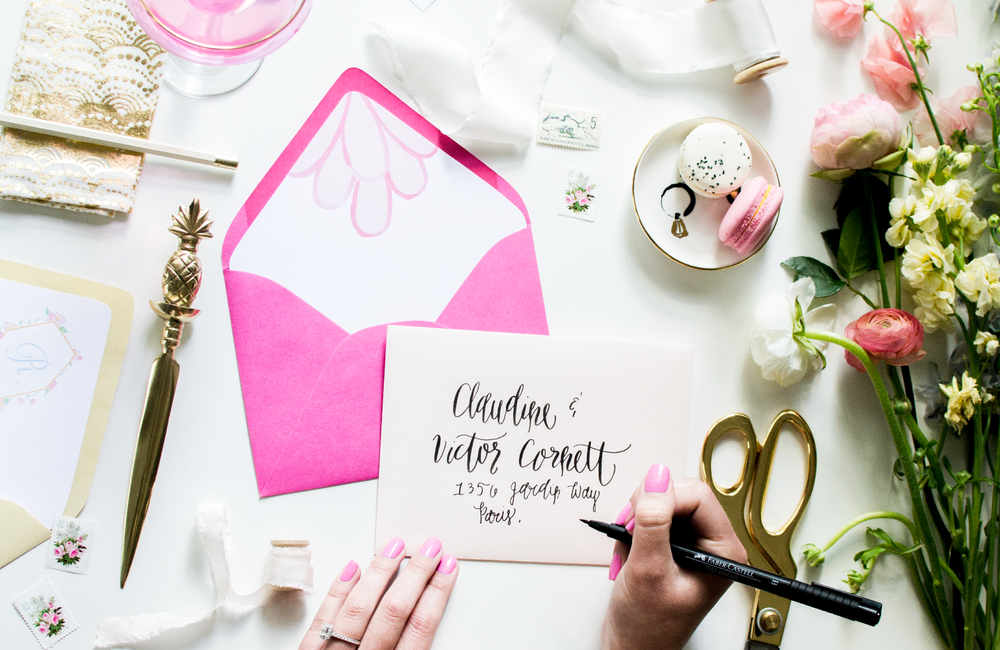 Brides and Besties Brush Calligraphy Workshop by Simply Jessica Marie