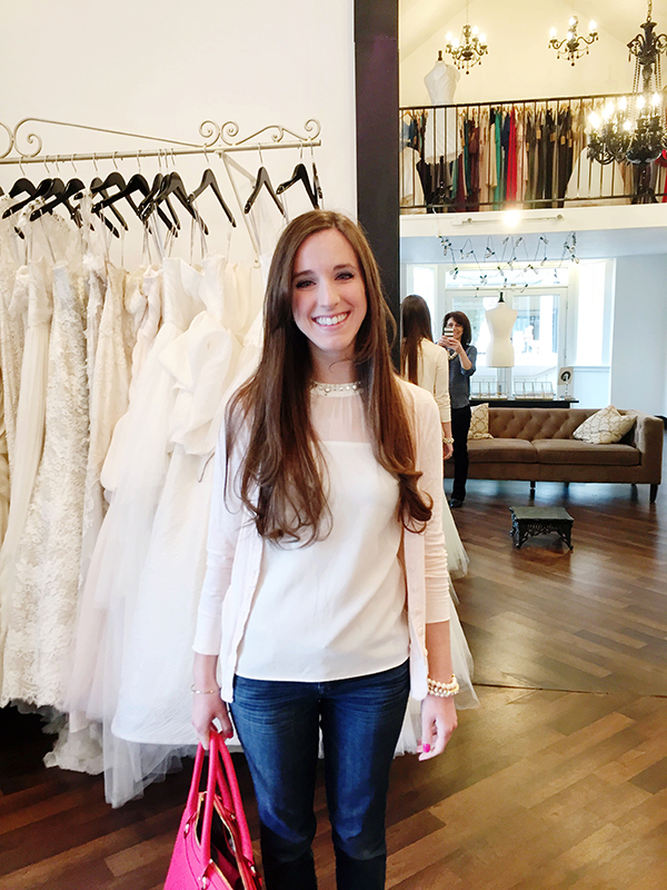 Shopping for a Wedding Gown with Simply Jessica Marie for Southern Weddings