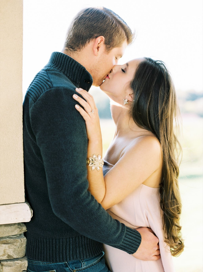 Childress Vineyard Engagement Photo Session by Perry Vaile for Simply Jessica Marie