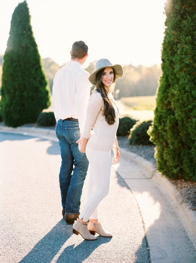 Childress Vineyards Picnic Engagement Photo Session by Perry Vaile for Simply Jessica Marie