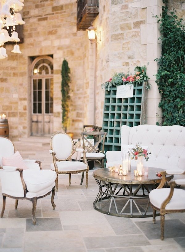 Wedding Soft Seating Area