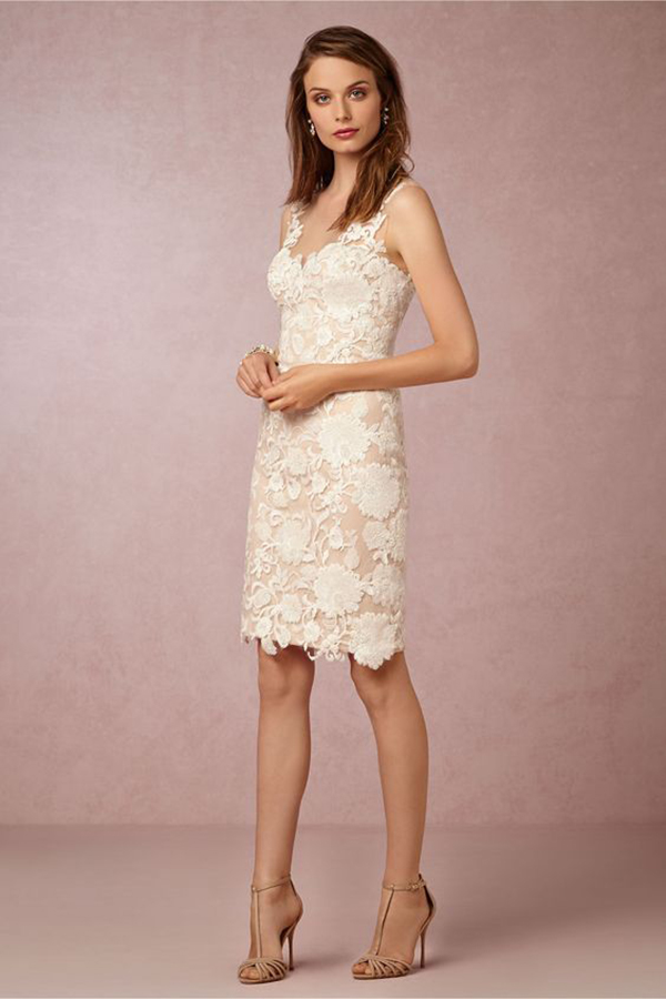 Renata Sheath Dress from BHLDN | Bridal Reception Dress