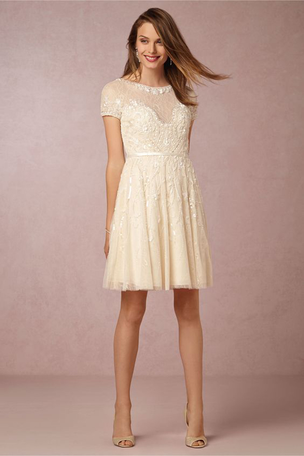 Gwendolyn Dress from BHLDN | Bridal Reception Dress