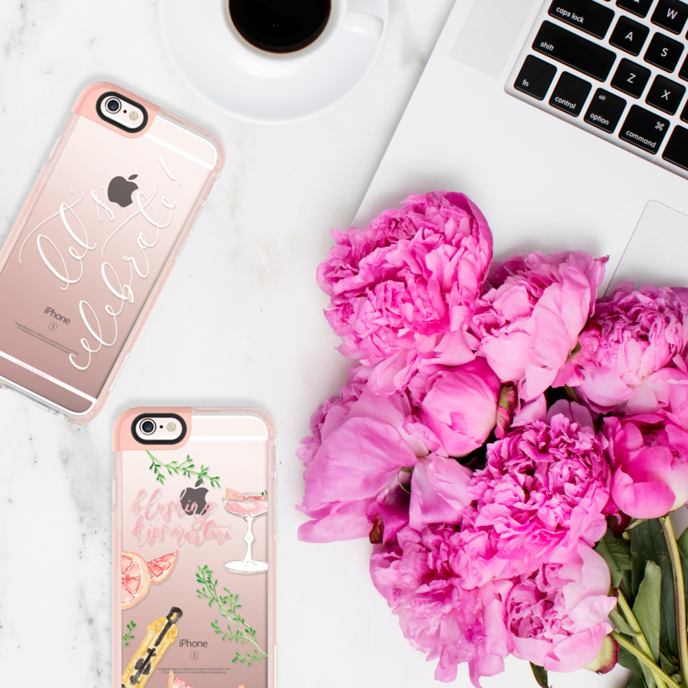 Watercolor Transparent iPhone Cases by Simply Jessica Marie for Casetify