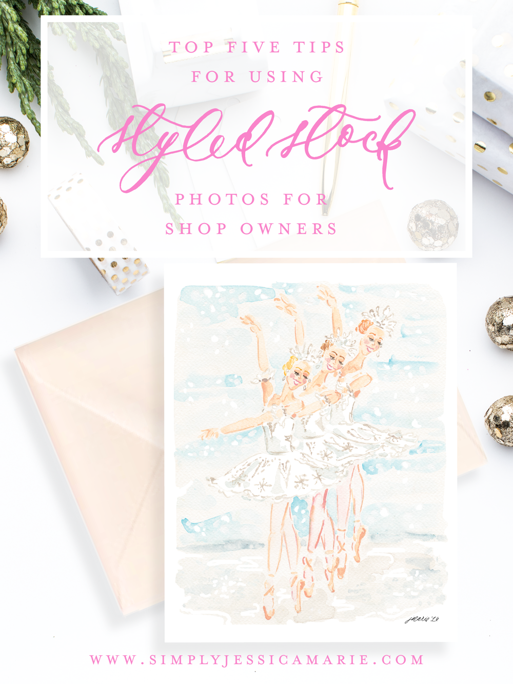 Top Five Tips for Using Styled Stock Photos for Shop Owners