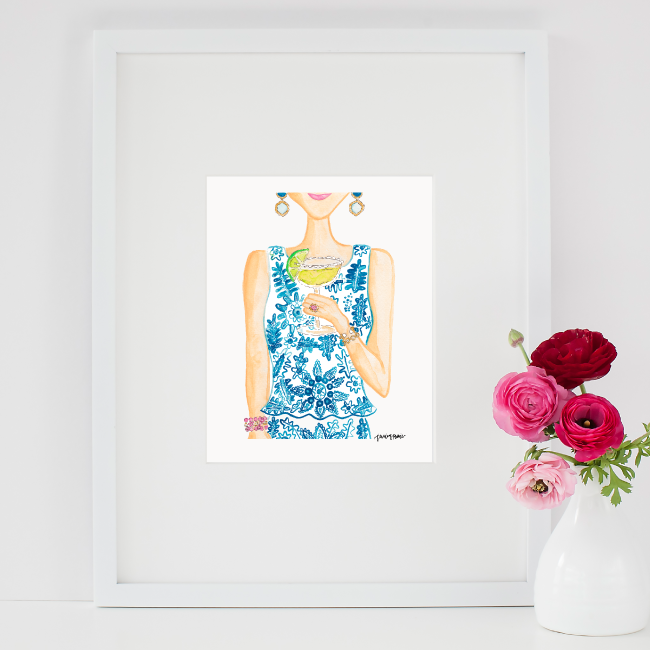Simply Jessica Marie SJM Shop Watercolor Art Prints