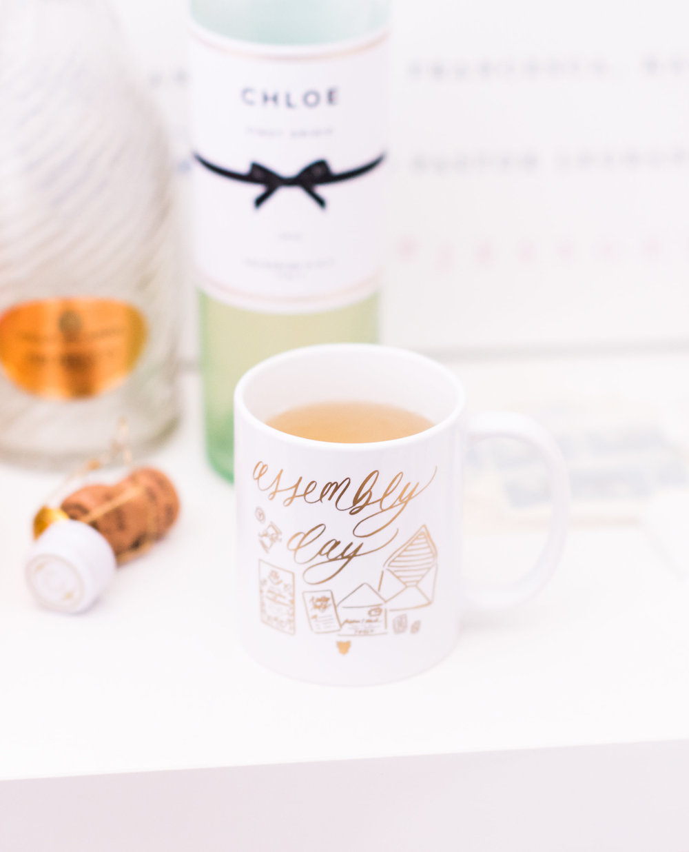 Assembly Day Gold Foil Mug by Simply Jessica Marie | Callie Lindsey Photography