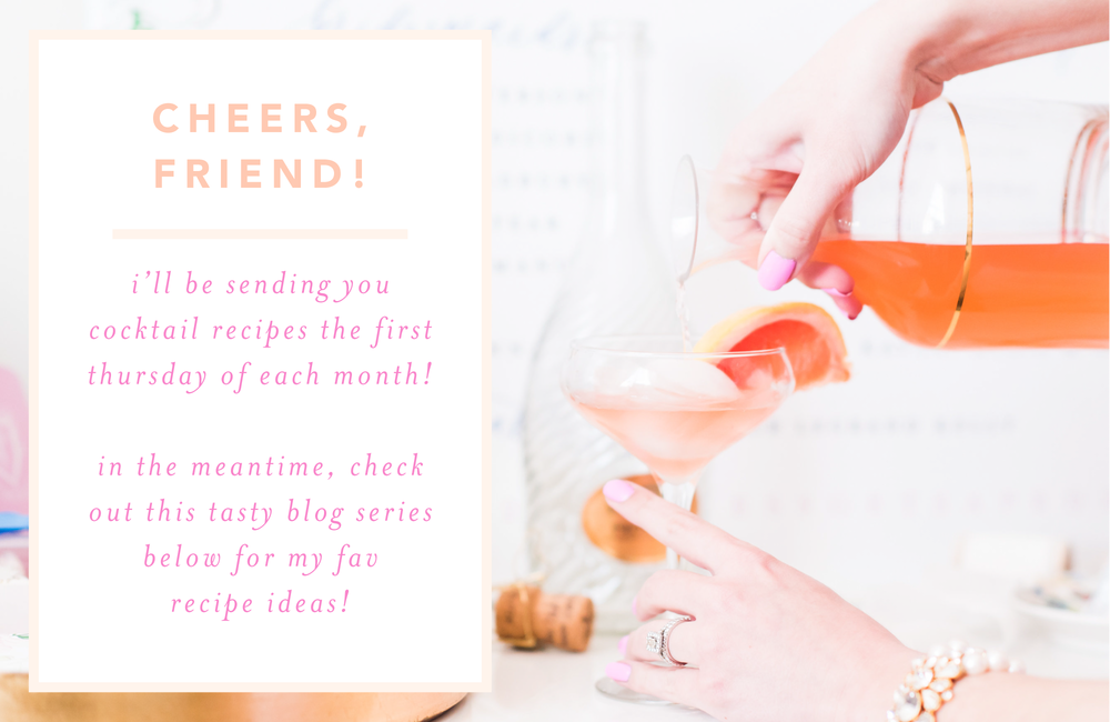 Cocktail Recipes Thank You