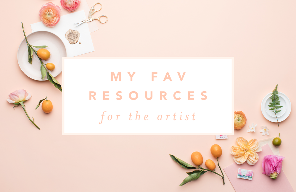 My favorite resources for artists and entrepreneurs by Simply Jessica Marie