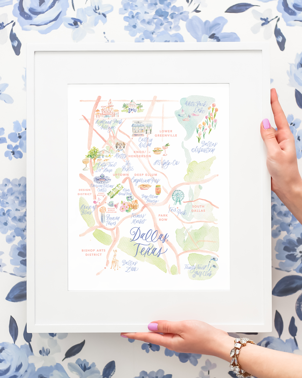 Dallas-Watercolor-Map-Art-Print-by-Simply-Jessica-Marie-_-Photo-by-To-and-From-Gifts-at-the-Caitlin-Wilson-Dallas-Shop-4x5 photo.png