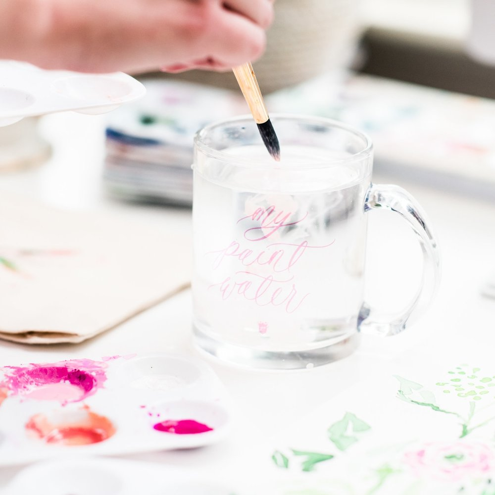 INTRO TO WATERCOLOR - This course will provide you with a strong watercolor foundation so you can feel confident mastering the basics of this beautiful & relaxing art form! It's perfect for beginners and those who need a refresher on the basics.