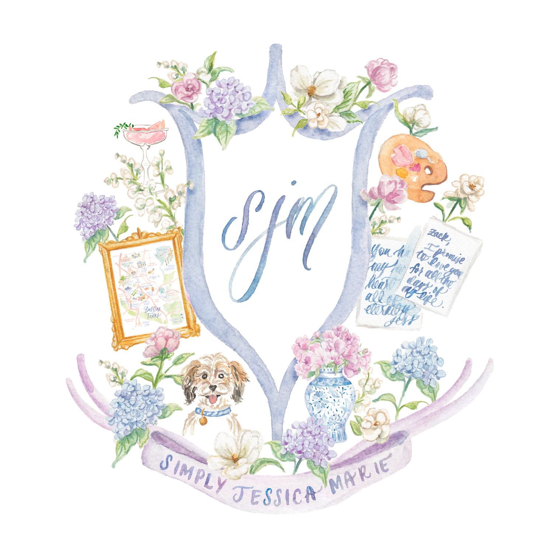 Custom Garden Tea Party Baby Shower Invitations — Simply Jessica Marie