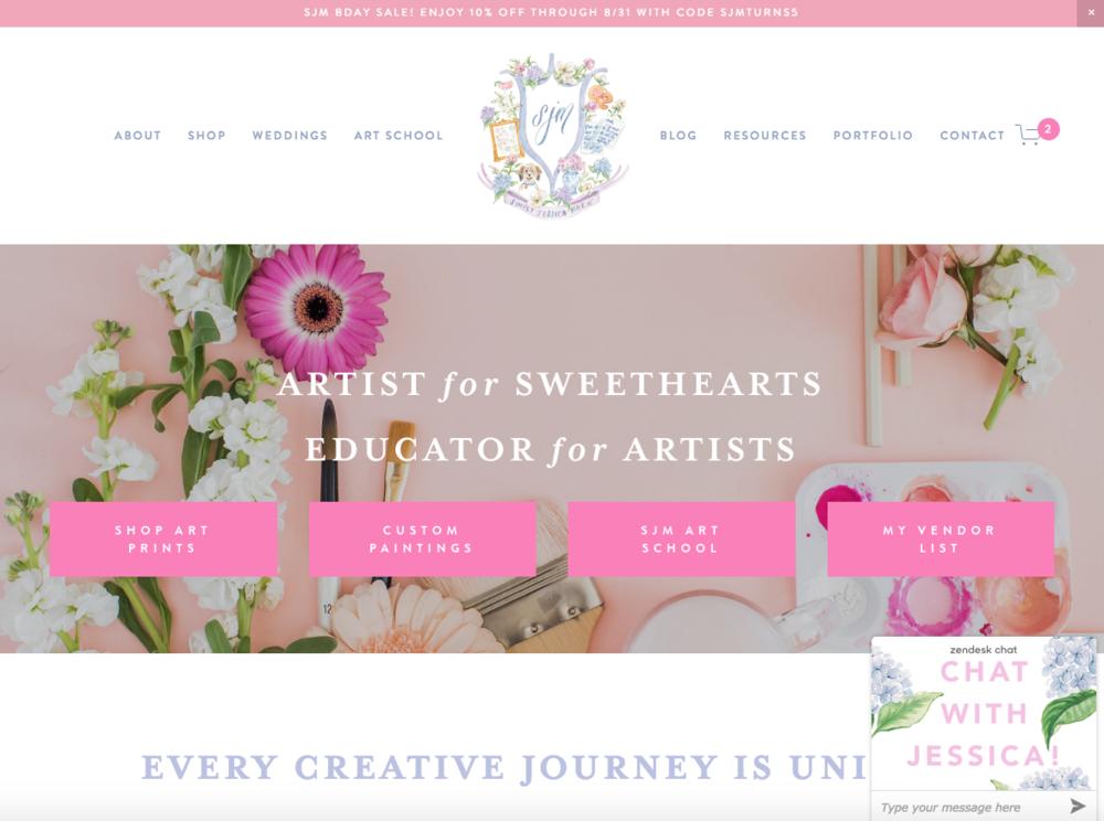 Simply Jessica Marie Website