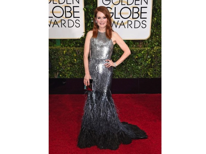 Julianne Moore vestida por Givenchy  Juliane Moore wearing Givenchy
