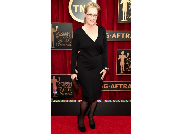 Meryl Streep: Lanvin Admiro mucho a Meryl Streep, todas sus actuaciones son impecables al igual que este outfit, pero NO para un red carpet. Este look es perfecto para una cena o una salida nocturna. De repente ya esta cansada de los red carpets... I admire Meryl Streep so much! All her performances are impecable just like this outfit, if you're going out for dinner or drinks right? This is NOT a red carpet look... Maybe she's just over red carpets right?