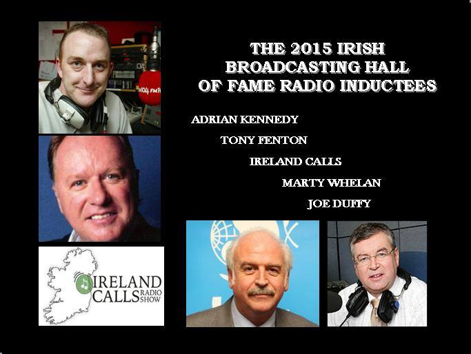Ireland Calls has been inducted into the Irish Broadcasting Hall of Fame for 2015