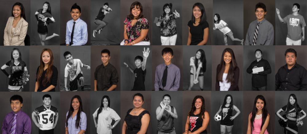 CTL Ambassadors from various schools