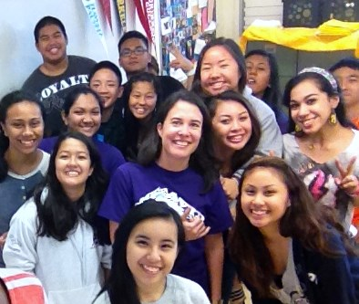 """""""The wonderful sophomore leadership students from Pearl City High School are part of a group of 125 young leaders being trained."""""""