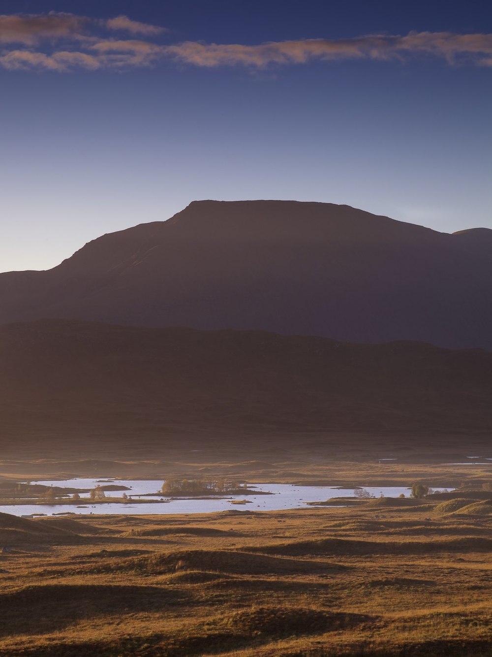 Sidelight on Rannoch Moor