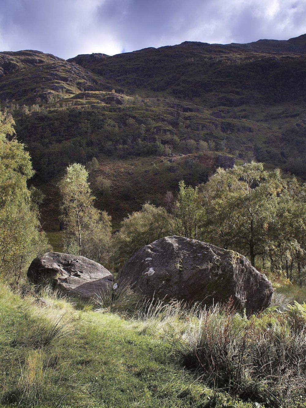 Across the glen