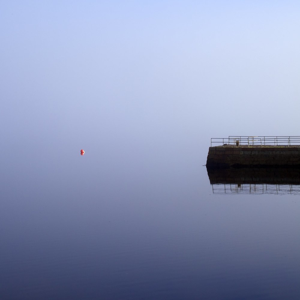 A Lonely Orange Buoy In Argyll