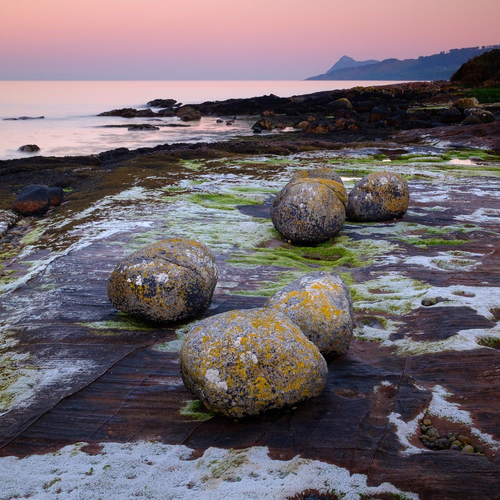 The Dragon Eggs at Corrie, Arran