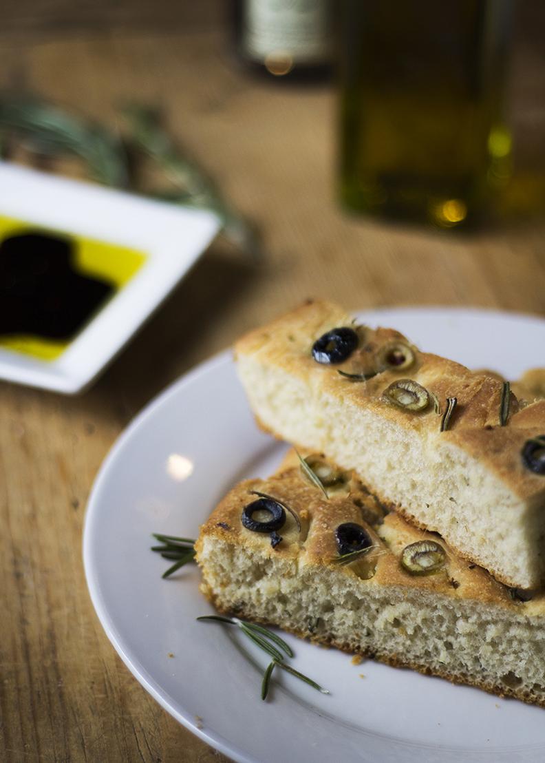 Herb & Olive Focaccia Bread