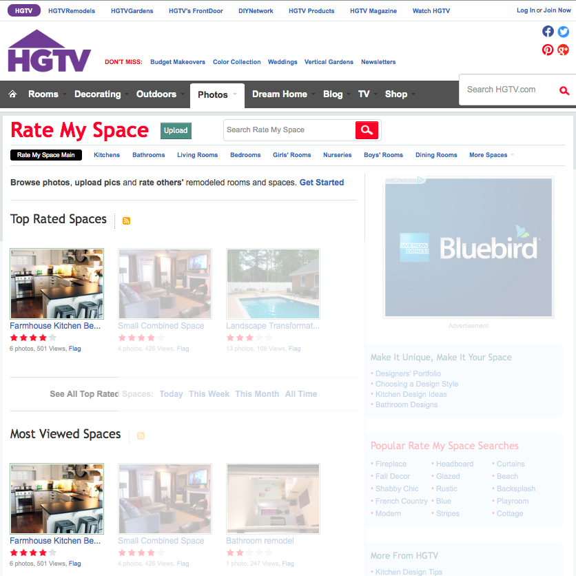 hgtv homepage