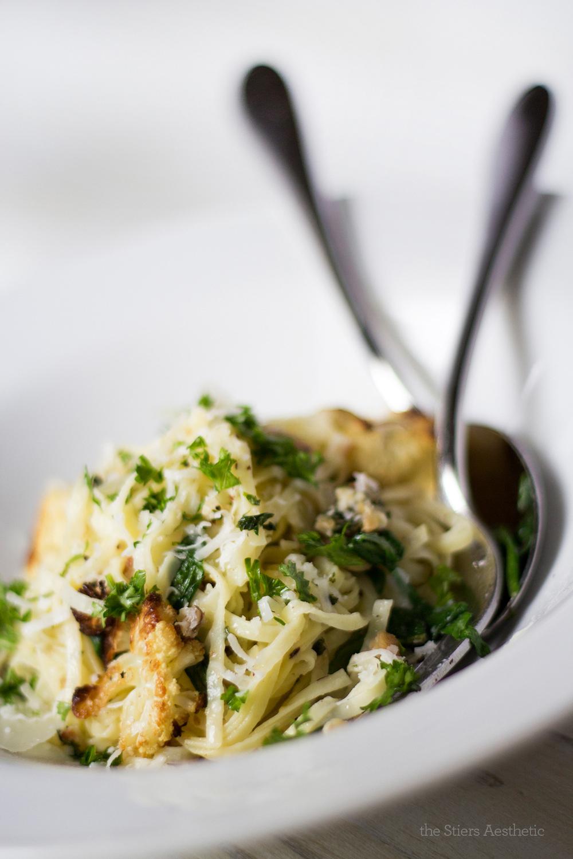 Tagliolini Pasta with Hazelnut Pesto