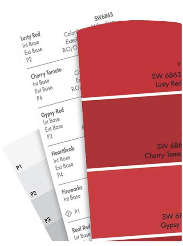 Sherwin-Williams Reds