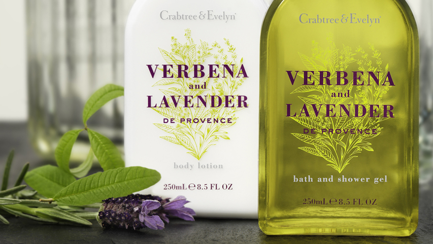 Verbena & Lavender Body Lotion & Shower Gel - Crabtree & Evelyn