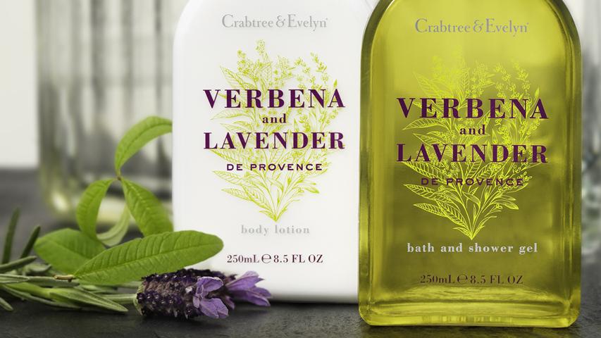 Verbena & Lavender Body Lotion & Shower Gel - Crabtree & Evelyn