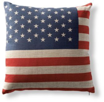 American Flag Pillow - Grandin Road