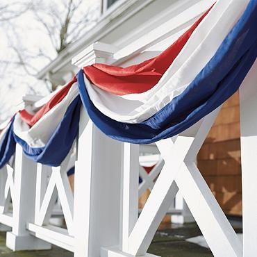 Patriotic Bunting - Grandin Road